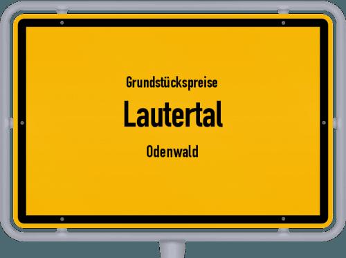 Grundstückspreise Lautertal (Odenwald) 2019