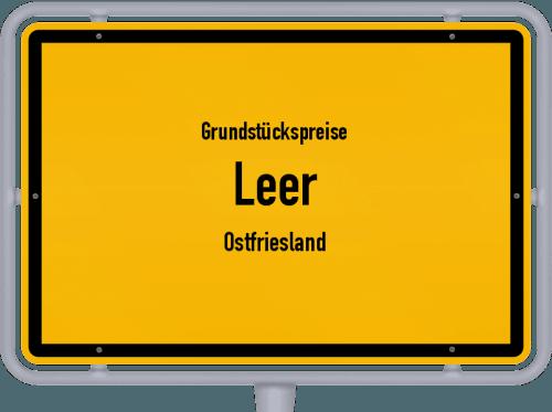 Grundstückspreise Leer (Ostfriesland) 2021