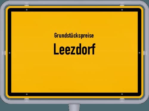 Grundstückspreise Leezdorf 2019