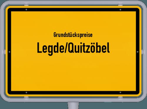 Grundstückspreise Legde/Quitzöbel 2021