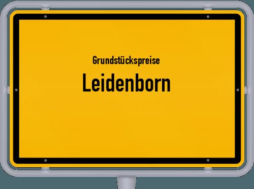 Grundstückspreise Leidenborn 2019