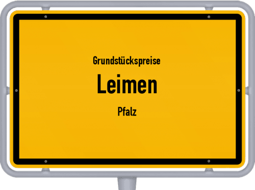 Grundstückspreise Leimen (Pfalz) 2019