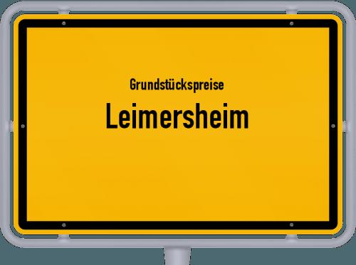 Grundstückspreise Leimersheim 2019