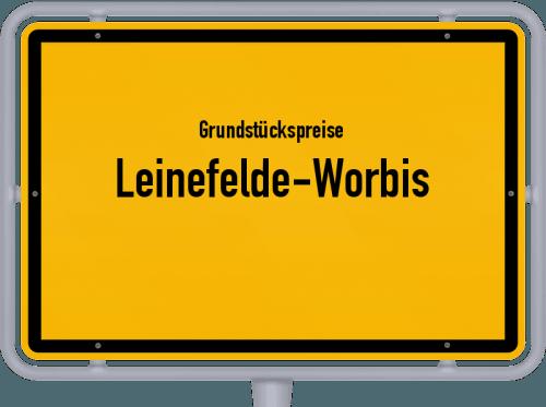 Grundstückspreise Leinefelde-Worbis 2019