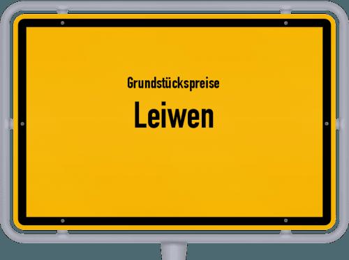 Grundstückspreise Leiwen 2019