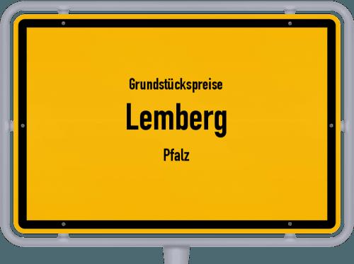 Grundstückspreise Lemberg (Pfalz) 2019