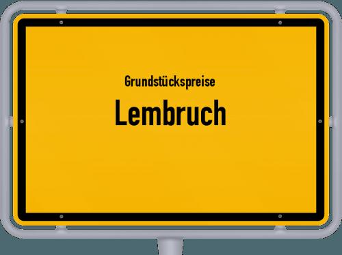 Grundstückspreise Lembruch 2019