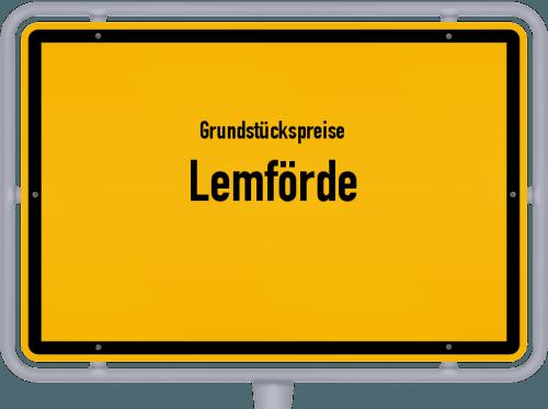 Grundstückspreise Lemförde 2021