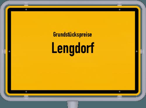 Grundstückspreise Lengdorf 2021