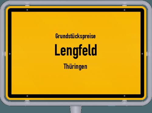 Grundstückspreise Lengfeld (Thüringen) 2019
