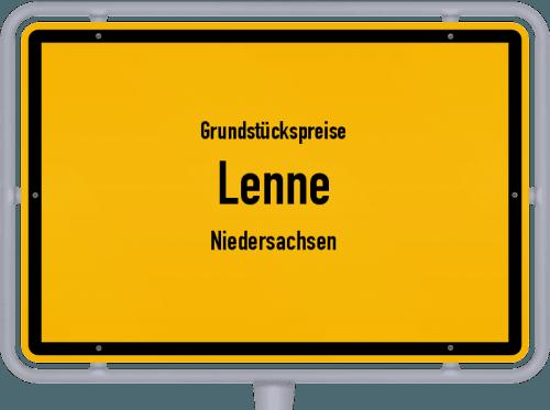 Grundstückspreise Lenne (Niedersachsen) 2021