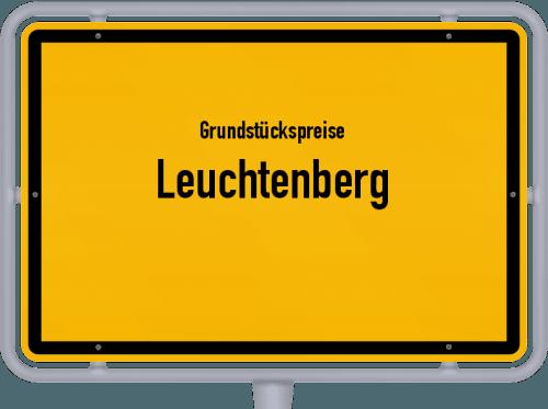 Grundstückspreise Leuchtenberg 2021