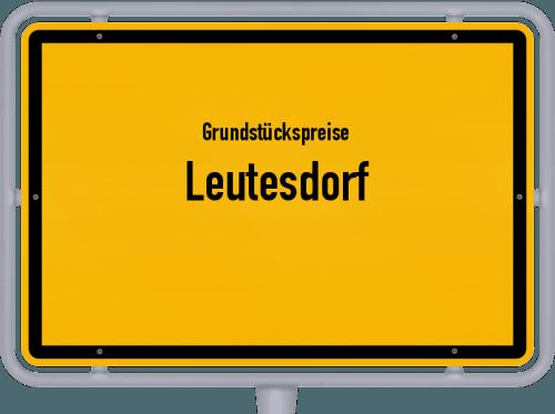 Grundstückspreise Leutesdorf 2019