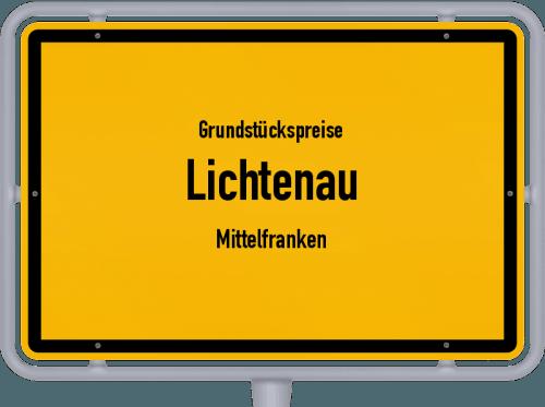 Grundstückspreise Lichtenau (Mittelfranken) 2019