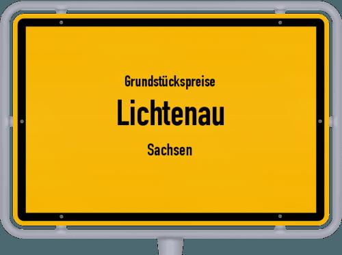 Grundstückspreise Lichtenau (Sachsen) 2019