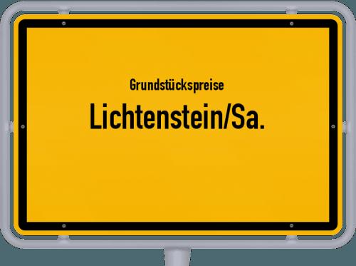 Grundstückspreise Lichtenstein/Sa. 2019