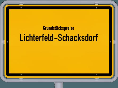 Grundstückspreise Lichterfeld-Schacksdorf 2021