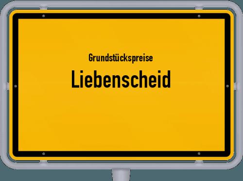 Grundstückspreise Liebenscheid 2019