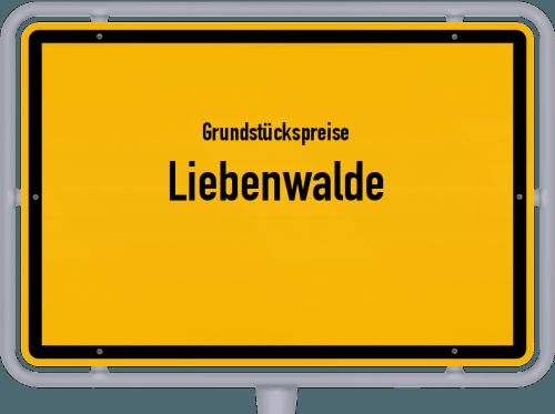 Grundstückspreise Liebenwalde 2021