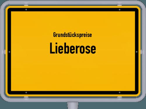 Grundstückspreise Lieberose 2021