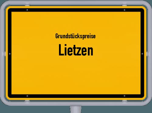 Grundstückspreise Lietzen 2021