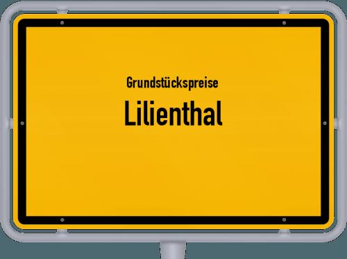 Grundstückspreise Lilienthal 2019