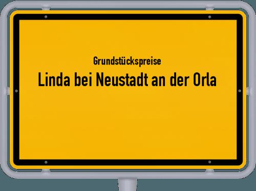 Grundstückspreise Linda bei Neustadt an der Orla 2019