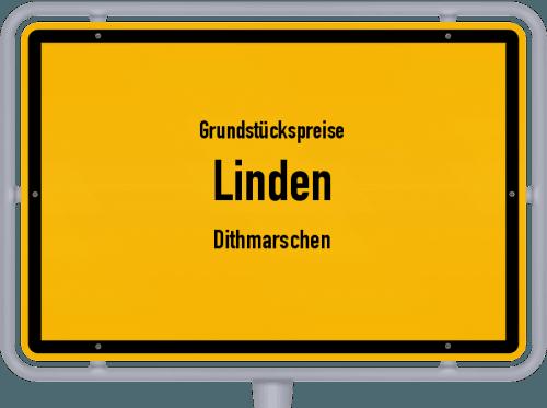 Grundstückspreise Linden (Dithmarschen) 2021