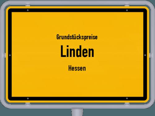 Grundstückspreise Linden (Hessen) 2019