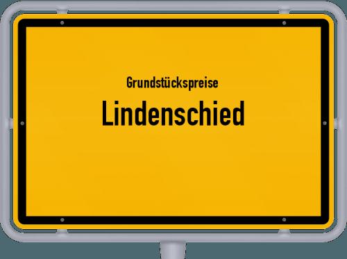 Grundstückspreise Lindenschied 2019