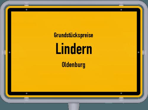 Grundstückspreise Lindern (Oldenburg) 2021