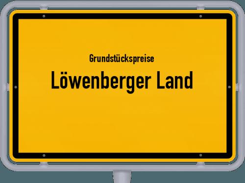 Grundstückspreise Löwenberger Land 2021