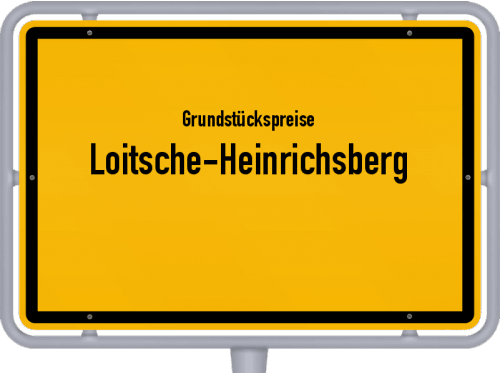 Grundstückspreise Loitsche-Heinrichsberg 2021