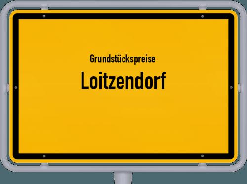 Grundstückspreise Loitzendorf 2021