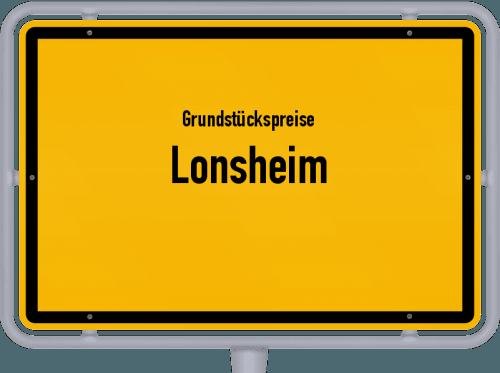 Grundstückspreise Lonsheim 2019