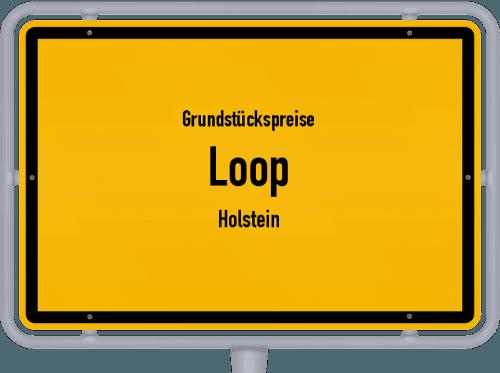 Grundstückspreise Loop (Holstein) 2021