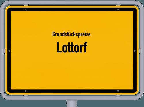 Grundstückspreise Lottorf 2021