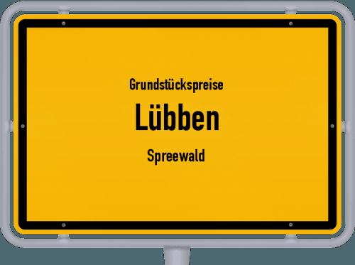 Grundstückspreise Lübben (Spreewald) 2021