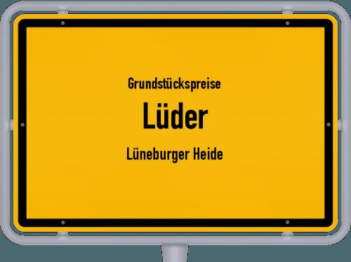 Grundstückspreise Lüder (Lüneburger Heide) 2021