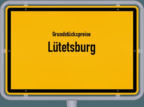Grundstückspreise Lütetsburg 2021