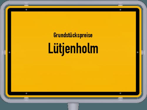 Grundstückspreise Lütjenholm 2021