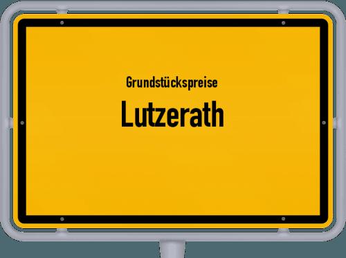 Grundstückspreise Lutzerath 2019