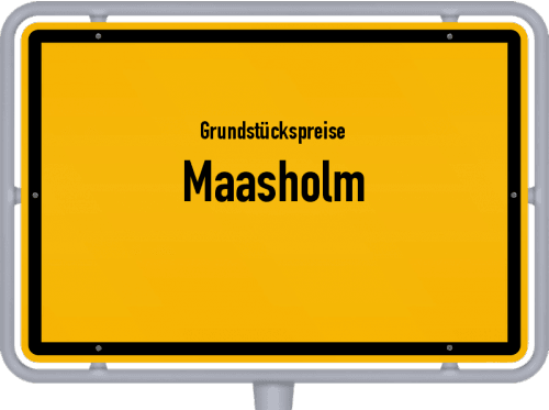 Grundstückspreise Maasholm 2021