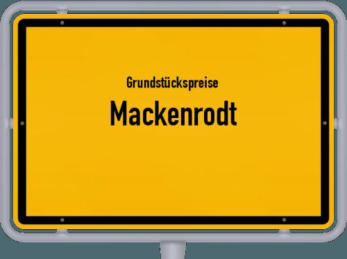 Grundstückspreise Mackenrodt 2019