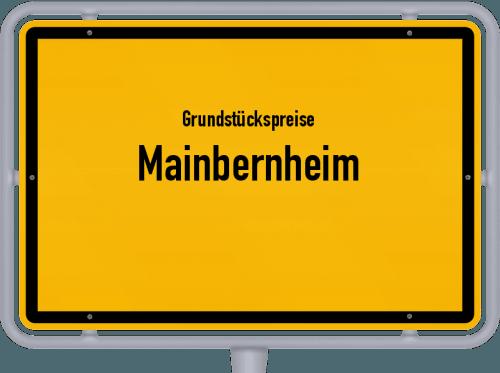 Grundstückspreise Mainbernheim 2019