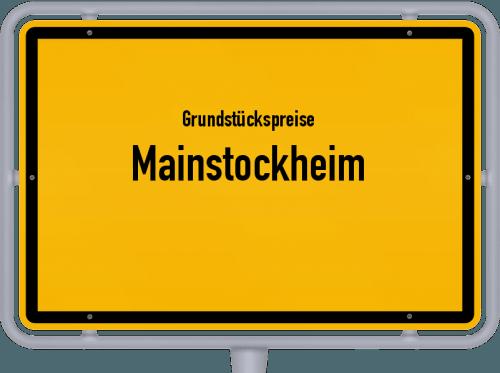 Grundstückspreise Mainstockheim 2019