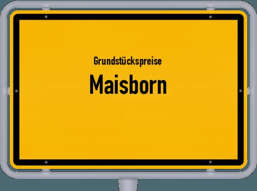 Grundstückspreise Maisborn 2019
