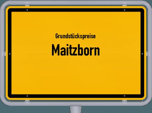 Grundstückspreise Maitzborn 2019