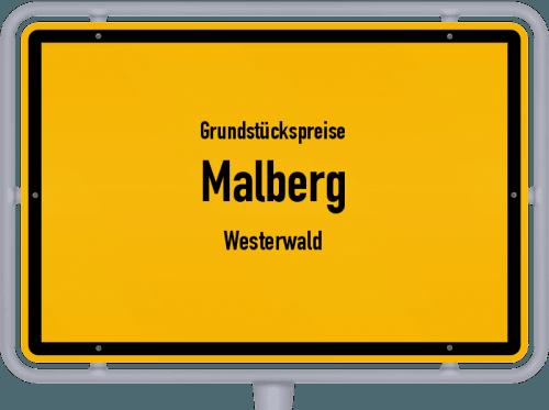 Grundstückspreise Malberg (Westerwald) 2019