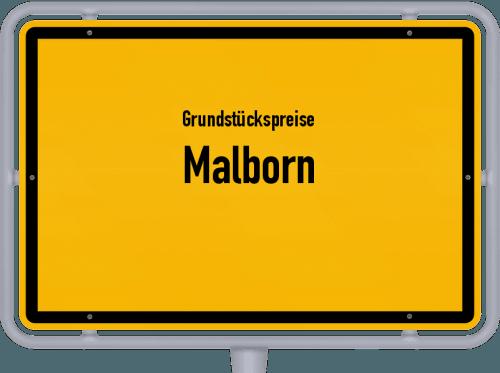 Grundstückspreise Malborn 2019